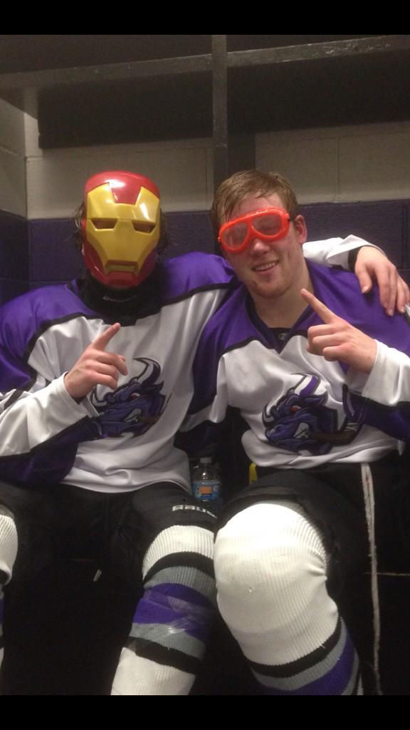 @NA3_TX_Brahmas players of the game: Dunner earns 'Iron Man' player of the game. Skinner with 'Hardest Worker' belt. http://t.co/Udmh4374Pv