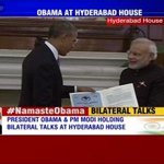 RT @ibnlive: Prez @BarackObama & PM @narendramodi hold talks on civil nuclear deal and a range of other key issues #NamasteObama
