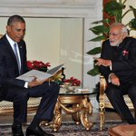 #INDIAUSA: PM @narendramodi gifts Mr @BarackObama copy of 1st telegram from US to Indian Constituent Assembly in1946 http://t.co/GF6g7fT2v4