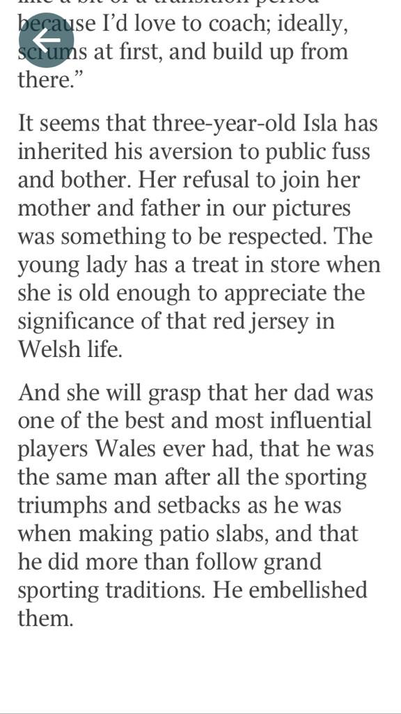 Lots of love for @adamjones3 & rightly so. A great piece in @thesundaytimes by @stephenjones9. here's last 2 paras. http://t.co/Fo82JPlqg6