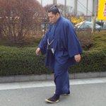 <千秋楽の様子>場所入り。遠藤。 #sumo http://t.co/EGG7qCe4uy
