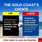 Message to the Gold Coast from Labor for #qldvotes http://t.co/L5PieEn2UW