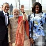 Rashtrapati Bhavan set to welcome US Prez Barack Obama. Follow live updates at http://t.co/0bwZQflW3p #ObamaInIndia http://t.co/6TycHey4p4