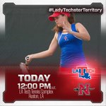 Its GAME DAY for @LATechTEN! Come cheer on the girls as they host Nicholls St. at noon! #WeAreLATech http://t.co/iJPE1XutV5