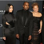 Kanye & I with Debra Lee from BET. Thanks for having us! http://t.co/isdBTh1KU1
