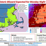 Please RT, Potentially Historic Winter Storm expected Mon night - Wed.  Watches Issued: http://t.co/C0AvfR5uEm