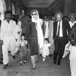Shaheed #Benazir #Bhutto with her children @BBhuttoZardari & @BakhtawarBZ Adv Iqbal Haider in Pic too 10th dec 1991 http://t.co/CHu48G0Vv8