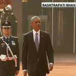 Wing Commander Puja Thakur led the Guard of Honour for President Obama http://t.co/Nv25Ucv0tO #NamastePOTUS http://t.co/dUwZPAkWc5