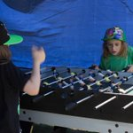 And the kids absolutely loved the foosball table! So novel in these days of apps & smart phones #ballaratbeerfestival http://t.co/Lwi3Zi2k43
