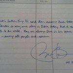 Mr. Prez Barack Obama msg at Rajghat. India proud to have Mahatma Gandhi. http://t.co/3dsDtwnmXk