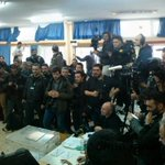 #Greece: Media madness for @atsipras vote #ekloges2015 http://t.co/xUCG8bdTvs