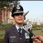 Very proud moment that I was commanding the inter-services Guard of Honour : Pooja Thakur,Wng Commander #ObamaInIndia http://t.co/gDO3pt64LZ