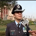 I am the 1stwoman probably to command a joint services guard of honour, I am proud & honoured: WgCdr Puja Thakur http://t.co/nMo9Gzl5OY