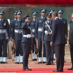 #ObamaInIndia: Wing Cmdr Pooja Thakur is the 1st woman officer to lead Guard of Honour for a major visiting dignitary http://t.co/9A8CkBGlMZ