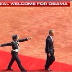 Coming of age, best moment so far: Wing Commander Pooja Thakur of IAF led the Guard of Honour for POTUS Obama http://t.co/sIPB5LXFS4