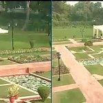 Delhi : President Obama & PM Modi to take a stroll at Hyderabad House gardens #ObamaInIndia http://t.co/ikQFQ3oFbi