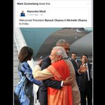 """""""@ndtv: Mark Zuckerberg liked this photo posted by PM on Facebook http://t.co/NxuLcCyuWn #NamastePOTUS http://t.co/w2Ll2r6jba"""""""