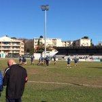 Les 24h du sport féminin cest aussi à #Montpellier avec les championnes de France de rugby @MHR_officiel http://t.co/u27NlZfQxK