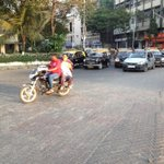 Two of many on the Century Bazaar crossing @sanjaymanjrekar #LetsBehaveMumbai http://t.co/rEt3U0OIjB