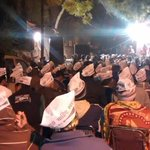 Model Town Congress Vice president join AAP in presence of Kumar Biswas. http://t.co/AUzm3mIRbQ