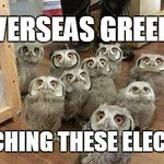 Greeks overseas watching these elections with intrigue & frustration #icannotvote #ekloges2015 #greekelections http://t.co/M1AWSTc4GU