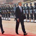 Woman officer Pooja Thakur leads guard of honour for US President @BarackObama | Read here: http://t.co/dVSdx684yl http://t.co/yu3lDC4nUz