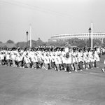 1952 :: Girls Doing March Past in Republic Day Parade http://t.co/So3lB0GBcp
