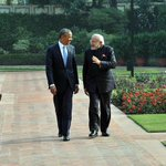 They walked, they talked, they sipped tea and sealed the deal....#NamasteObama Exclusive coverage on IBN7 http://t.co/rA3JWFp1Y4