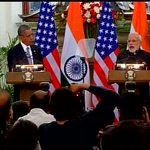 LIVE | Mera pyaar bhara namaskaar, says Obama in a joint address with Modi #NamasteObama http://t.co/ytXpbEDh0n http://t.co/59YLpUztUc