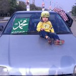 Little Angel in love of Muhammad (pbuh) #JIShaneMustafaMarch http://t.co/Qt6Ktw6LxA