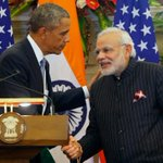 Compared how much sleep were getting, PM Modi gets less than me, says Obama #NamastePOTUS http://t.co/NMmnIIKfMY http://t.co/q9qmFjQM95
