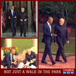 History created over tea & a walk at Hyderabad House. Indo-US talks end in nuke deal being operational.#ModiNukePush http://t.co/bs8x4G9d2w