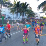 Runners are on both the Venetian and MacArthur. Will keep you posted on #traffic delays. #MiamiMarathon2015 http://t.co/xQFVfMP1Wx