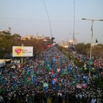 Glimpses of #JIShaneMustafaMarch #Karachi http://t.co/C7n298VoW1