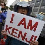 Around 200 Japanese rallied in front of PM's official residence on Sun.,asking gov't to rescue the remaining hostage. http://t.co/5DYoYaNdBG