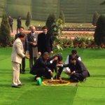 From @HorsleyScott tree planting at Gandhi memorial #india http://t.co/vjqC0ee05i