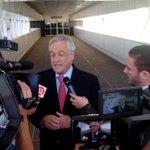 Expdte Piñera: No vengo a conspirar. Tampoco voy a responder a las descalificaciones del Pdte Maduro. http://t.co/XBqJ990u5Y