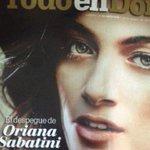 Bellísima la portada de la revista @todoendomingo del @ElNacionalWeb con @orisabatini #Venezuela http://t.co/eAl5FFzxRp