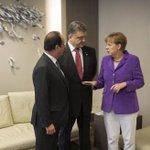 Меркель, Олланд и Порошенко надеются на проведение встречи контактной группы до 29 января http://t.co/hxxUxHYypR http://t.co/w60iER7lQM
