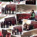 Terminando Evento con la Organización Francisco Villa, hoy en el Estadio Municipal. Seguimos trabajando y sumando! http://t.co/N4yIkCyLI4