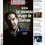 Απίστευτο πρωτοσέλιδο => « Eλλάδα: Το νέο πρόσωπο της Ευρώπης!» Το αυριανό πρωτοσέλιδο της Liberation! http://t.co/CihPnfPqEY