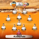 OFICIAL - Once del @valenciacf ante el @SevillaFC #LoDoyTodo http://t.co/pz5UH71NWc