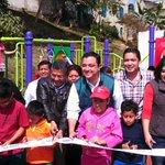 Inauguramos el módulo deportivo en la Calle Emiliano Zapata de la Col. El Tanque. Más obras para #NuestraCapital http://t.co/FXDXhTldam