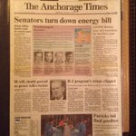 Todays ANWR news shows its a story that keeps giving. I was the editor on this story in Anchorage in 1991. http://t.co/MnzFgagaqK