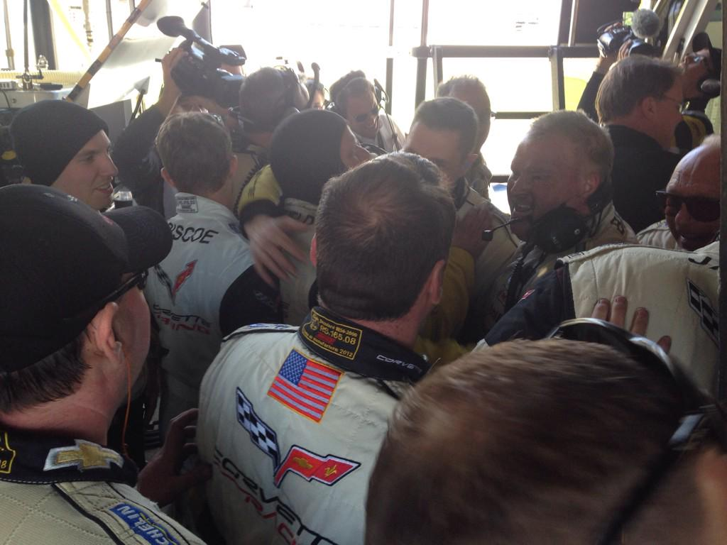#CorvetteRacing has won the #Rolex24 in GTLM!!! http://t.co/8Yhi57qFhh