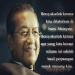 Tun Mahathir said he succeeded in building Malaysia, but failed in changing the way we think. http://t.co/ja0iMVqODo