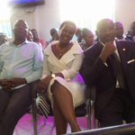 SUNDAY PHOTO: #Seya Sebagala and Desire were in the congregation at Bugembes church today http://t.co/x3aeLEPjtJ via @MukiibiH_NV