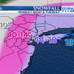Updated snow totals map #NYC #blizzard http://t.co/rj6A3h07NK