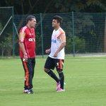 """""""Me preparei para isso, sempre soube da responsabilidade em vestir essa camisa do Flamengo"""" - Arthur Maia http://t.co/yLcveTisTV"""