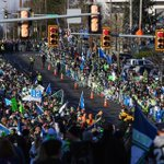 #Seahawks soon to pass through this near Sea-Tac Airport for #SeahawksSendoff. #SB49 #NEvSEA #SuperBowl http://t.co/R6rAf2mXC9